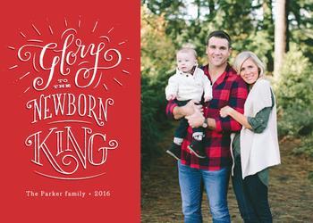 Christ, the newborn King