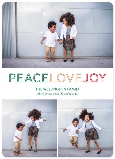 holiday photo cards - three shades of christmas by ashnee eiram