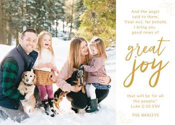 Great Joy in Christ