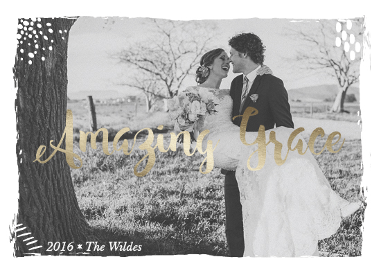holiday photo cards - Amazing Grace by Kate Ross