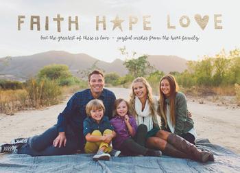 faith + hope + love