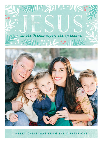 holiday photo cards - Reason for the Season by Karidy Walker