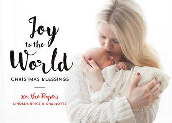 Joy to the World Blessings