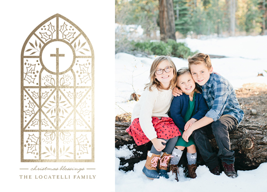 holiday photo cards - Season for Miracles by Chris Griffith