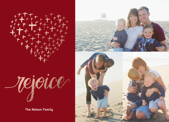 holiday photo cards - Heart of Gold by raven erebus