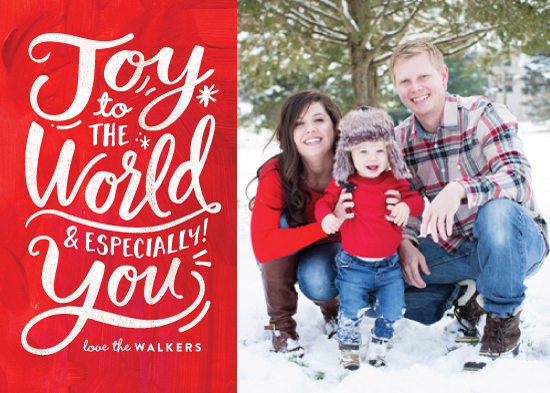 holiday photo cards - Especially You by Carrie ONeal