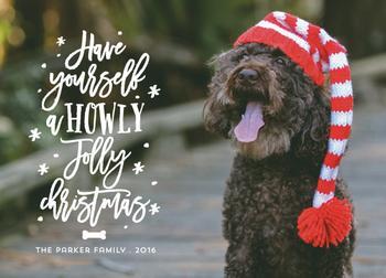 A howly jolly christmas