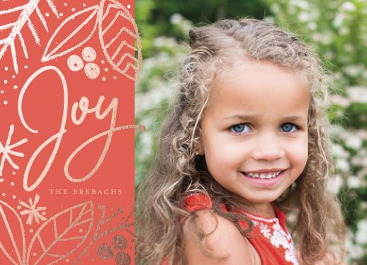 holiday photo cards - Shining Joy by Lindsay Megahed