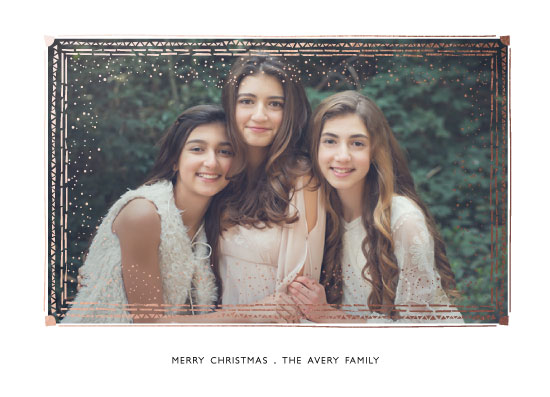 holiday photo cards - Leaflet by Bethany Anderson