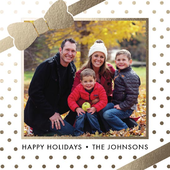 holiday photo cards - All Wrapped Up by Mimi Pascual