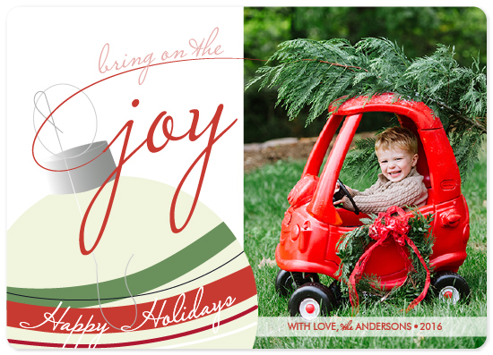 holiday photo cards - Perfect Tree by Celia Maria