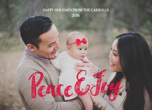holiday photo cards - Peaceful Joy by Olga Davydova