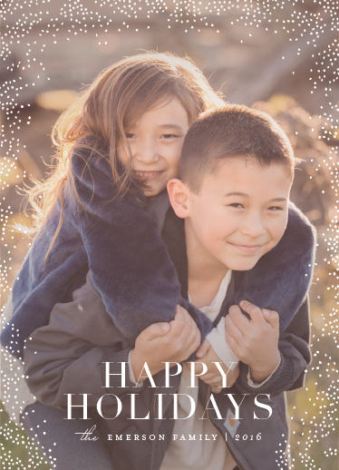 holiday photo cards - midwinter night's dream by Design Lotus