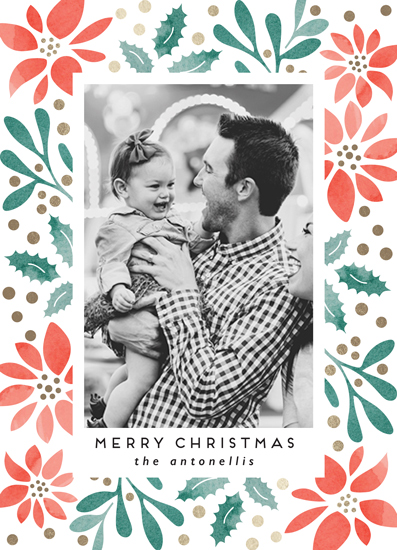 holiday photo cards - Holiday Stencil by Chris Griffith