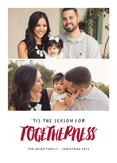 holiday photo cards - Togetherness by Mariah Thompson
