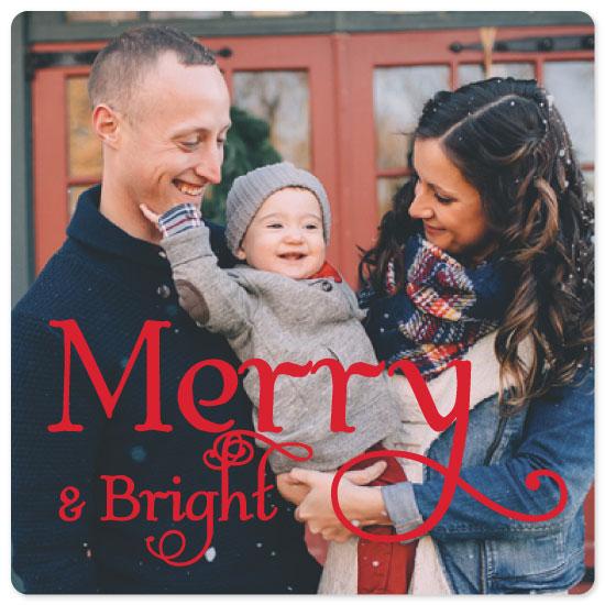 holiday photo cards - MerryAndBright by Christine Arrigo