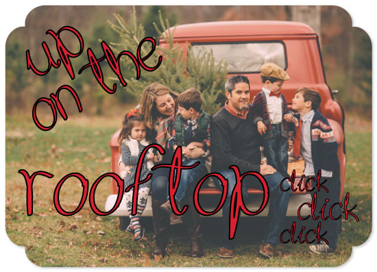 holiday photo cards - OnTheRooftop by Christine Arrigo