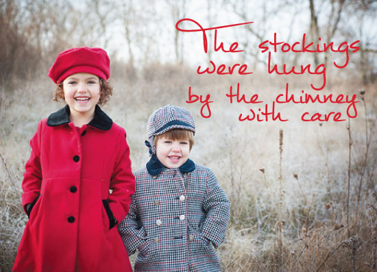 holiday photo cards - StockingsWereHung by Christine Arrigo