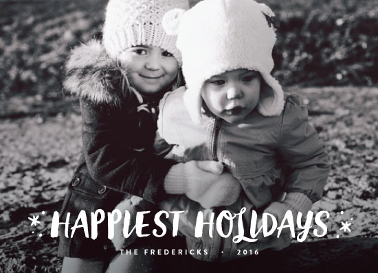 holiday photo cards - Stocking Stuffers by carly reed walker
