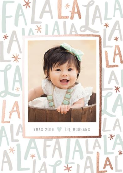 holiday photo cards - Festive FaLaLa by Hooray Creative