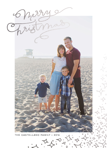 holiday photo cards - TWINKLE by DESIGN X FIVE