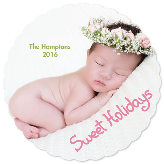 holiday photo cards - Sweet Holidays by Juliana Motzko