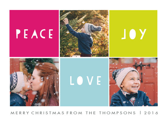 holiday photo cards - the best combination by Neeta Sawhney