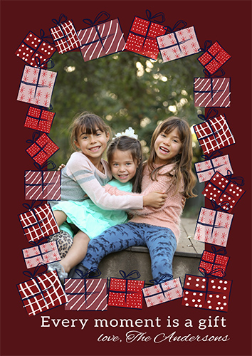 holiday photo cards - Christmas gift by Caterina Cilio