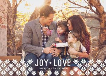 Joy and love