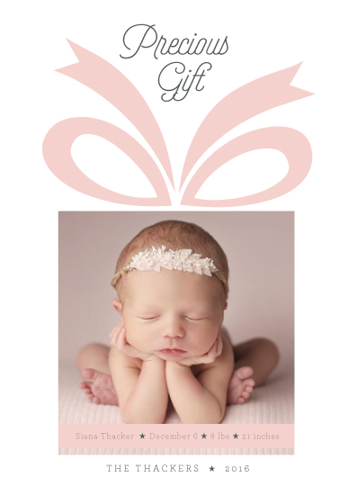 holiday photo cards - Precious Gift by Pooja Thacker