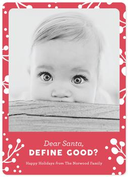 Dear Santa Define Good?