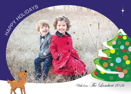 holiday photo cards - Oh Deer by Mae Kwan
