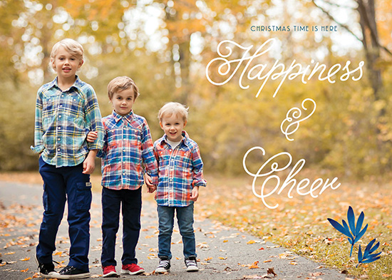 holiday photo cards - Happiness and Cheer are here! by Annie Taylor