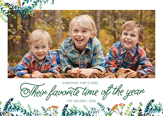 holiday photo cards - Their Favorite Time of Year by Annie Taylor