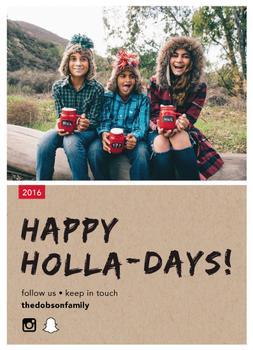 Happy Holla-days!