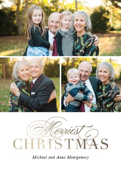 holiday photo cards - Merriest Year Yet by Kimberly FitzSimons