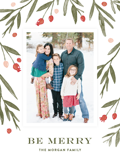 holiday photo cards - Winter Harvest by Oscar & Emma