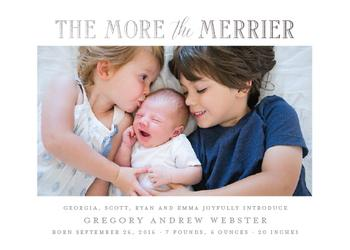 Baby Makes Merrier