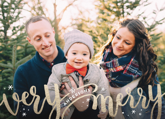 holiday photo cards - Merrily Intertwined by Leah Bisch