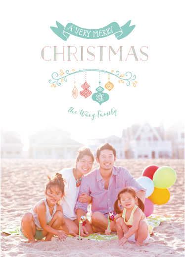 holiday photo cards - a Holly Jolly Christmas by Benita Crandall