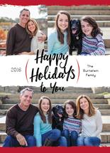Happy Holiday Swash by Rhonda Kinahan