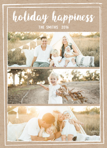 holiday photo cards - Holiday happiness by AnaP Studio