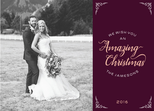 holiday photo cards - Amazing christmas by AnaP Studio