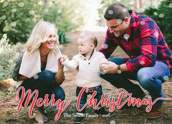 holiday photo cards - The Merry Christmas by Stephanie Ramirez