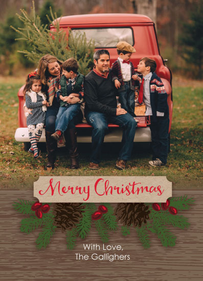 holiday photo cards - Old Fashioned Christmas by Karen Ciocca
