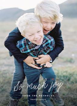 So. Much. Joy.
