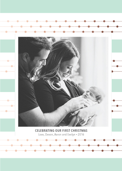 holiday photo cards - Kate Spade Inspiration by Katie Grantier