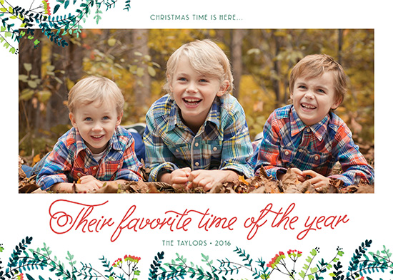 holiday photo cards - Their Favorite Time of Year II by Annie Taylor