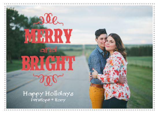 holiday photo cards - Merry Rodeo Bright by Darcy Sang