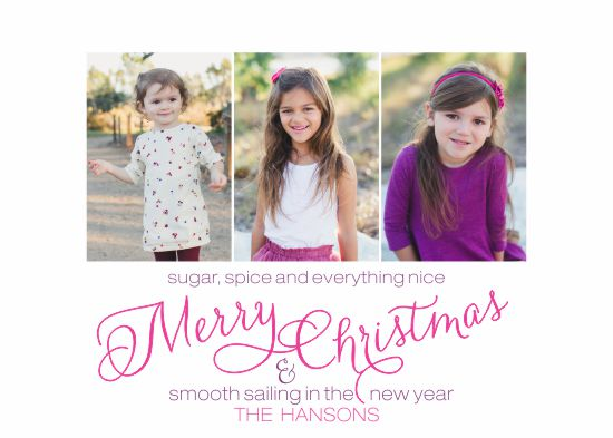 holiday photo cards - Sugar + Spice by Darcy Sang